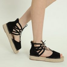 Sandali espadrillas in similpelle