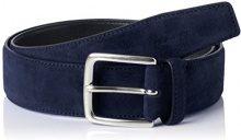 Gant Classic Suede Belt, Cintura Uomo, Blu (Marine), (Taglia Produttore: 105/42)