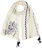 Desigual Foulard_slim Rectangle Pixie, Sciarpa Donna