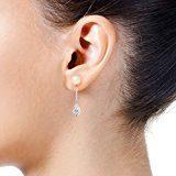 Pearls & Colors Donna  925  Argento  Rotonda Perla d'acqua dolce  Perla