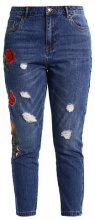 ONLTONNI BOYFRIEND - Jeans baggy - dark blue denim