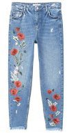 POPPY - Jeans baggy - blue