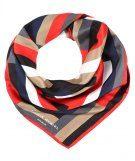 CARRE BRIQUES - Foulard - multicolor/rouge