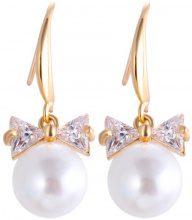 Orecchini con perle & zirconi