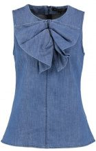 DRAPED  BOW TOP - Top - medium wash