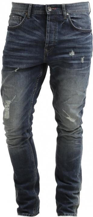 7b34a8e5e4c4 Only   Sons ONSAVI Jeans slim fit dark blue denim   Bantoa