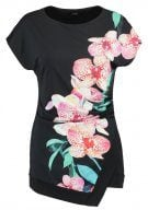 Wallis DOTTY ORCHID Tshirt con stampa black
