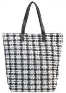 Becksöndergaard PATRICE Shopping bag nutmeg white