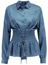 Lost Ink B&&B CORSET WAISTED  Camicia teal