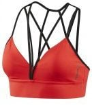 STRAPPY SPORTS BRA - Reggiseno sportivo - glow red