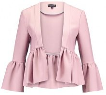Topshop BELLA CROP Blazer rose