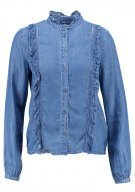 ONLY AMY  Camicia blue denim