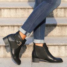 Chelsea boots con inserto elastico ampio