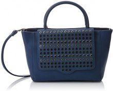 Lola Casademunt Angie - Borse Baguette Donna, Azul (Marino), 13x23x38.5 cm (W x H L)