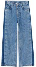 FIND Jeans A Zampa Donna, Blu (Light Blue), W34/L32 (Taglia Produttore: X-Large)
