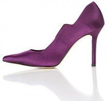 FIND Décolleté con Tacco Donna, Viola (Purple), 39 EU