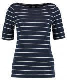 T-shirt con stampa - navy/natural