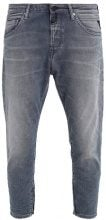 Replay PILAR ANKLE ZIP Jeans baggy grey denim