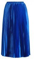 YAS YASKARMEN PLEATED SKIRT Gonna a campana blue