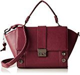 Lollipops Ashton Bag - Borse a spalla Donna, Rouge (Wine), 13x17x32 cm (W x H L)