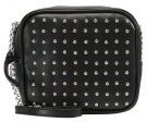 New Look SQUARE STUDDED XBODY Borsa a tracolla black