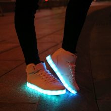 Scarpe LED high top