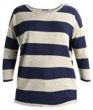 ONLY ONLELCOS STRIPE Maglione night sky/oatmeal