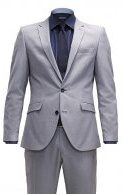SHXONE - Vestito elegante - light grey melange