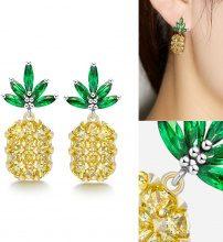 Orecchini ad ananas