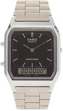 Casio - AQ-230A-1DMQYES - Orologio digitale con bracciale e timer