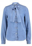 Vila VIBISTA BOW  Camicia light blue denim