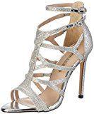 Buffalo Shoes 16s15-6 Glitter, Sandali con Zeppa Donna