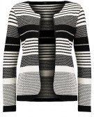 ONLPEARL ELIF PUFF - Cardigan - white/black
