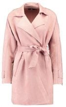 Missguided BONDED TRENCH WITH ZIP DETAIL Trench pink