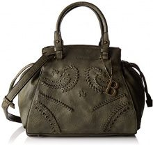 Bulaggi Izaks Handbag - cartella Donna, Grün (Khaki), 24x15x30 cm (B x H T)