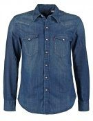 BARSTOW  - Camicia - laundered dark