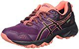 Asics Gel-Sonoma 3 G-Tx, Scarpe da Trail Running Donna, Viola (Dark Purple/Black/Flash Coral), 36 EU