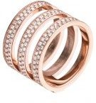 BRILLIANCE - Anello - rosegold-coloured