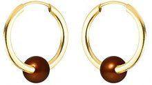 Pearls Colors &, a cerchio, in oro giallo 9 kt, con perla d'acqua dolce, AM-134-CHO R4J 9BOC