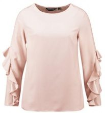 Dorothy Perkins RUFFLE LONG SLEEVE Camicetta peach