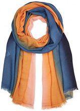 PIECES Pcsiw Long Scarf, Sciarpa Donna, Multicolore (Navy Blazer Navy Blazer), Taglia Unica