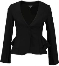 Topshop PEPLUM FITTED  Blazer black