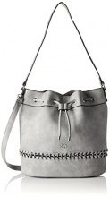 GERRY WEBERWarp Matchsack Mvo - Borsa a spalla Donna , grigio (Grigio (Light Grey)), Taglia unica