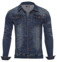 Giacca jeans effetto washed
