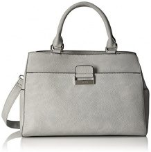 Gerry Weber Talk Different Ii Handbag Mhz - Borsette da polso Donna, Grau (Lightgrey), 14x24x35 cm (B x H T)