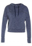 GAP BREATHE CROPPED HOODIE Tshirt sportiva true indigo