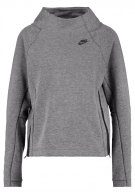 Nike Sportswear TECH FLEECE Maglietta a manica lunga carbon heather/black