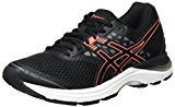 Asics Gel-Pulse 9, Scarpe Running Donna, Nero (Black/Flash Coral/Carbon), 38 EU