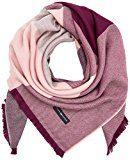 Tommy Hilfiger TH Blanket, Sciarpa Donna, Multicolore (Black Grey / Pink Mix), Taglia Unica (Taglia Produttore: OS)
