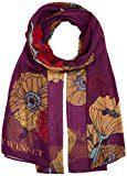 Twin Set AA7P8A, Sciarpa Donna, Multicolore (Stampa Floreale Black Dahlia), One Size (Taglia Produttore:T/U)